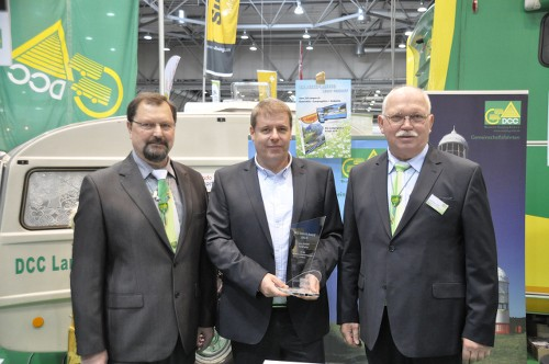DCC Technology-Award 2015 pour TireMoni